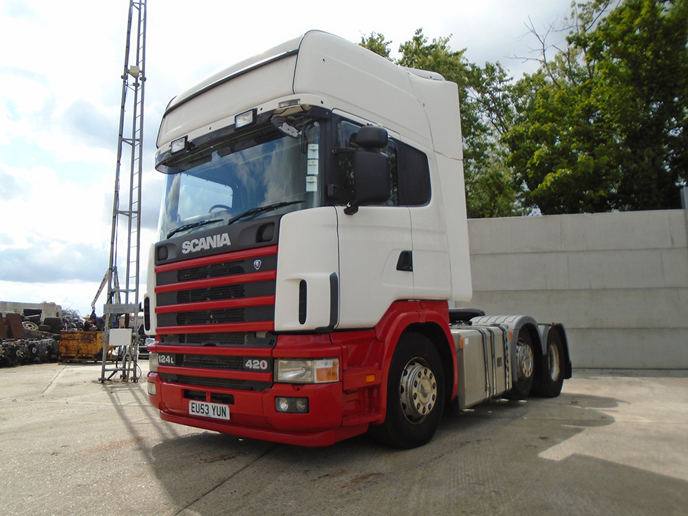 2004 Scania R124 420 Top line 6x2 Midlift