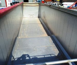 2000 SDC Tri-axle Alloy Tipping Trailer