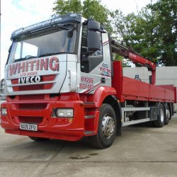 2009 Iveco Stralis 310 Cursor Euro 5,Rear Hiab w/Brick Grab,One Owner