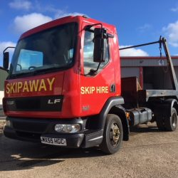 2005 DAF TRUCKS FA LF45.130 7.5t Skip MOT April 20