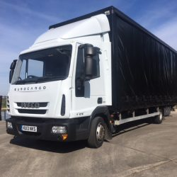 2013 Iveco Eurocargo 75E16 Curtainsider 23ft