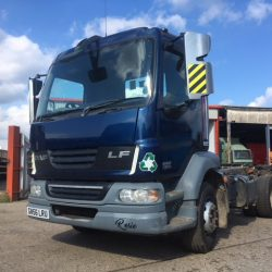 2007 (56) DAF Lf 55 180 Skip and Tipper Chassis Cab 15ton